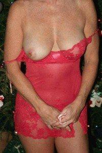 jag sexig i rött