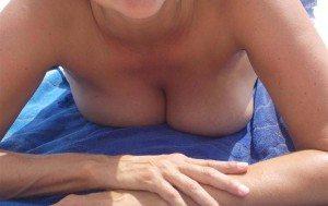 jag på nakenstranden